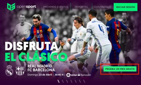 Ver Real Madrid Barcelona gratis por Internet