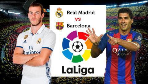 Dónde ver el Madrid vs Barcelona online en directo