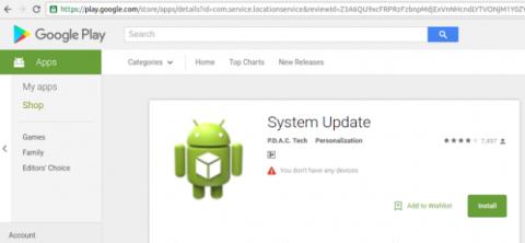App maliciosa Android