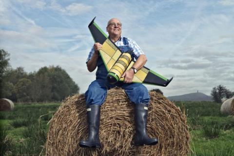 Se inventa un dron comestible que puede salvar vidas