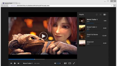 La próxima versión de uTorrent funcionará desde el navegador