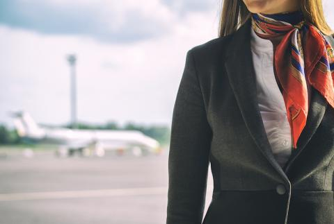 Los códigos secretos que utilizan azafatas y pilotos en un avión