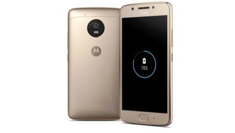 Smartphones con sistema de carga rápida como el Motorola Moto G5, y su batería de 2.800 mAh