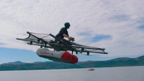 El aerodeslizador eléctrico de Google ya es una realidad