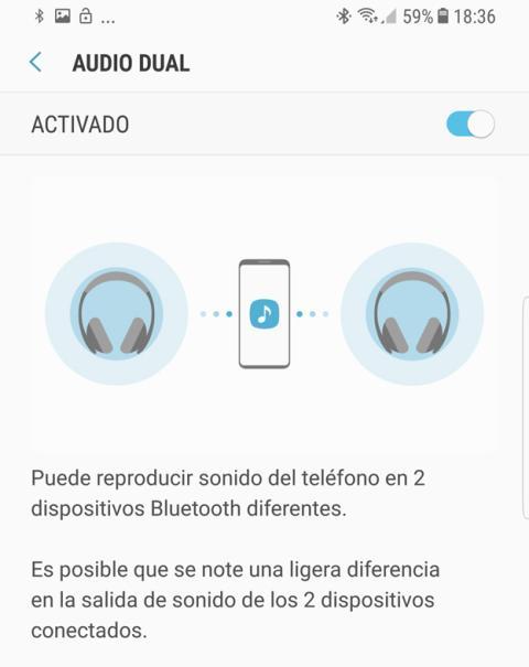 El audio dual en los nuevos Galaxy S8