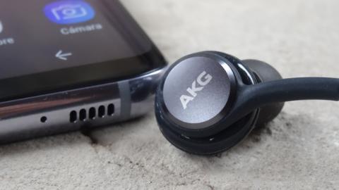 Los auriculares que trae la caja de los Samsung Galaxy S8