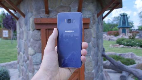 Así queda el Samsung Galaxy S8+ en la mano