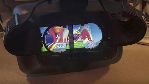 Así se ve la Nintendo Switch dentro de unas gafas de realidad virtual