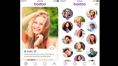 Rediseño de la nueva app de Badoo