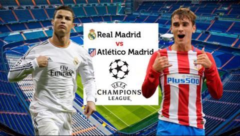 como ver el Real Madrid Atlético de Madrid de semifinales de Champions League 2017 en directo a través de Internet