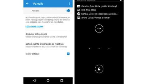 Configurar las notificaciones de la pantalla de bloqueo