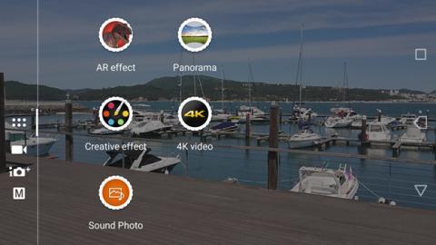 Los diferentes modos de cámara del Xperia XZ Premium