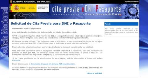 Cómo renovar o solicitar el pasaporte por Internet