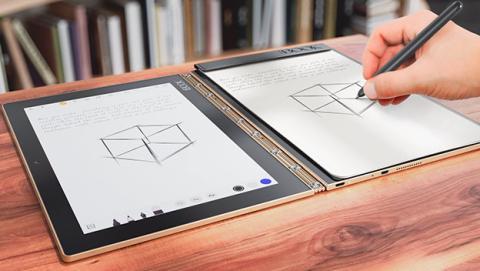 Lenovo Yoga Book digitaliza los apuntes