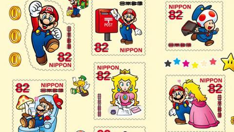 Con estos sellos de Super Mario podrás enviar cartas en Japón