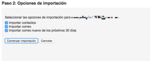 Migrar correo Gmail.