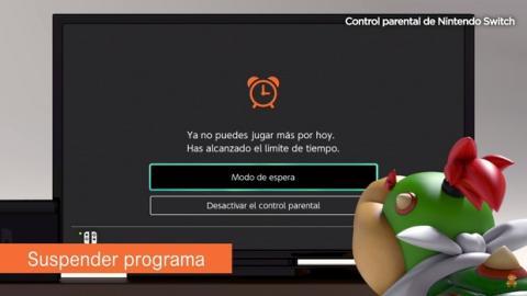 Nintendo Switch: Cómo configurar el control parental