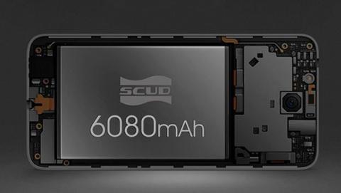 Oukitel K6000 Plus viene equipado con una enorme batería de 6.080 mAh