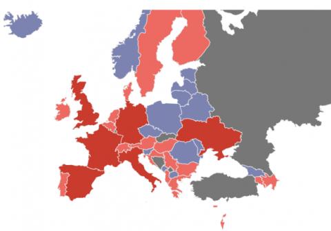 Mapa Eurovisión 2017