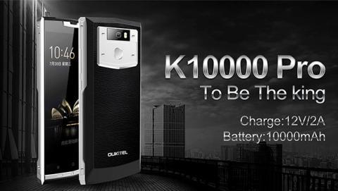 Oukitel K10000 Pro muestra su diseño en vídeo
