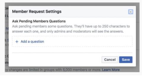 cuestionario grupos de facebook
