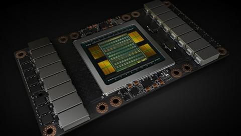 NVIDIA Tesla V100, cinco veces más potente que una GTX 1080 Ti