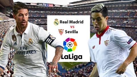 Cómo ver online en directo el Real Madrid vs Sevilla de Liga en streaming por Internet