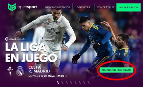 Ver Celta Real Madrid gratis por Internet