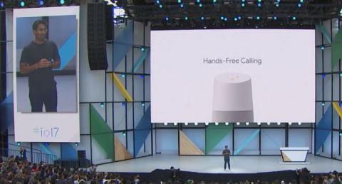 Google Home Manos libres