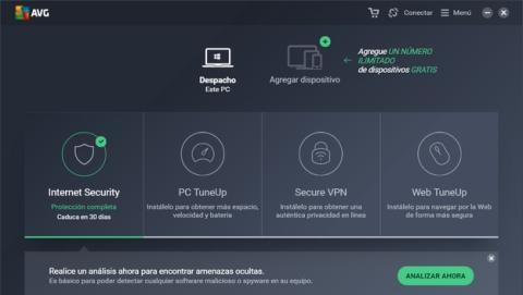 AVG Antivirus Free 2017, el antivirus para Windows que puedes descargar gratis