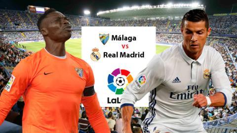 Cómo ver gratis el Málaga vs Real Madrid online y en directo a través de Internet