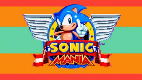 Imágenes y gameplay de Sonic Mania.