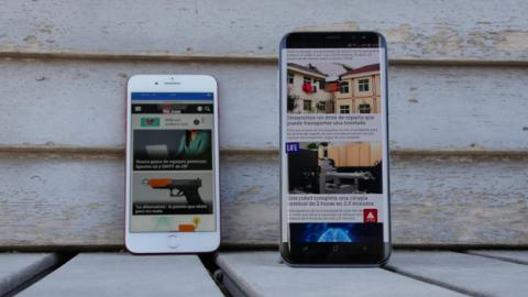Comparativa entre el S8 Plus y el iPhone 7 Plus