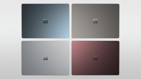 Colores en los que está disponible el teclado de la nueva Surface Pro
