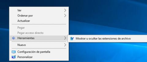 Menu contextual windows