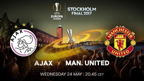 Ajax vs Manchester United: cómo ver la final de la Europa League 2017 online y en directo