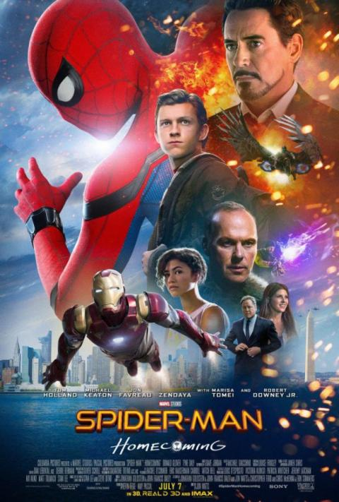Spider-Man Homecoming póster