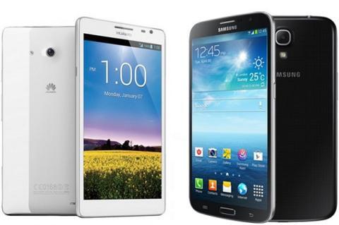 Samsung y Apple cada ven más asediadas por los móviles chinos