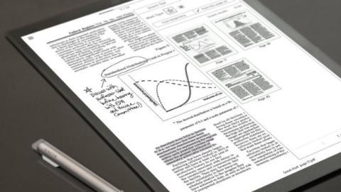 Sony mejora su tableta de papel digital