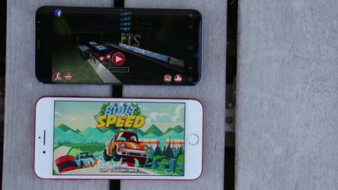 Ahora comparamos el rendimiento del S8+ frente al iPhone 7 Plus