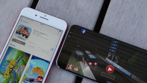 Los juegos funcionan igual de fluidos tanto en el móvil de Samsung como en el móvil de Apple