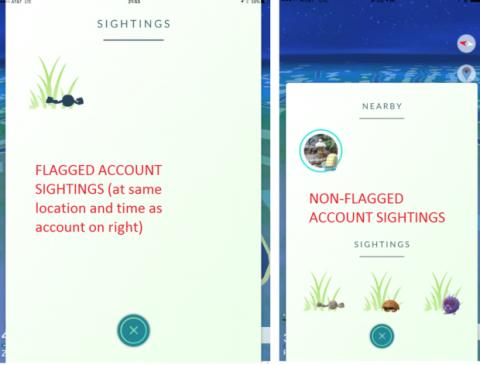 Aviso a los jugadores tramposos de Pokémon Go