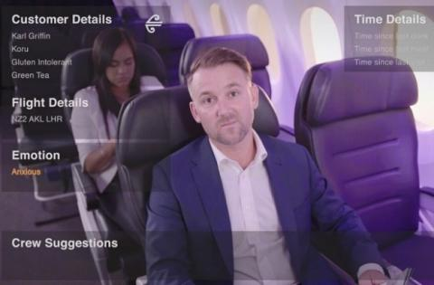 Air New Zealand utiliza gafas de realidad mixta con sus clientes