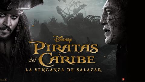 Piratas del Caribe 5, de Disney, se estrena el 26 de mayo en España