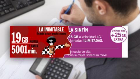 Buscamos alternativas de tarifas a La Inimitable de Pepephone