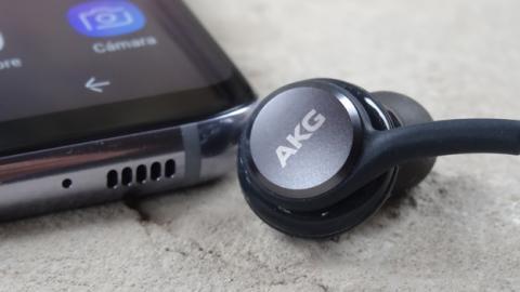 Los auriculares AKG que incluye Samsung