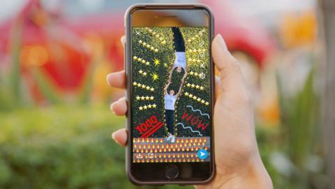 Un estudio viritual para crear geofiltros, la nueva actualización de Snapchat