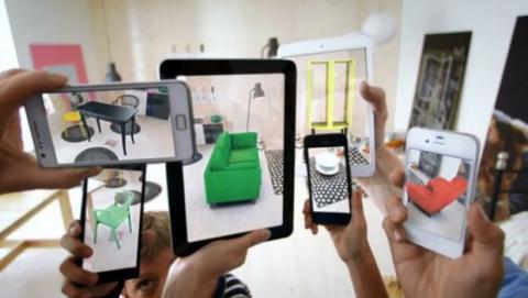 realidad aumentada iphone 8