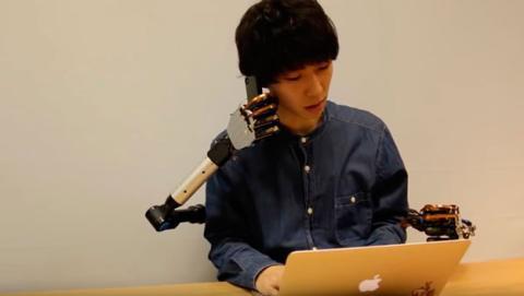 cuatro manos robot