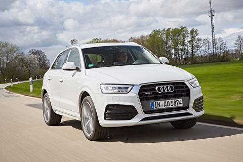 Audi Q3 vs Mercedes GLA vs Mini Countryman